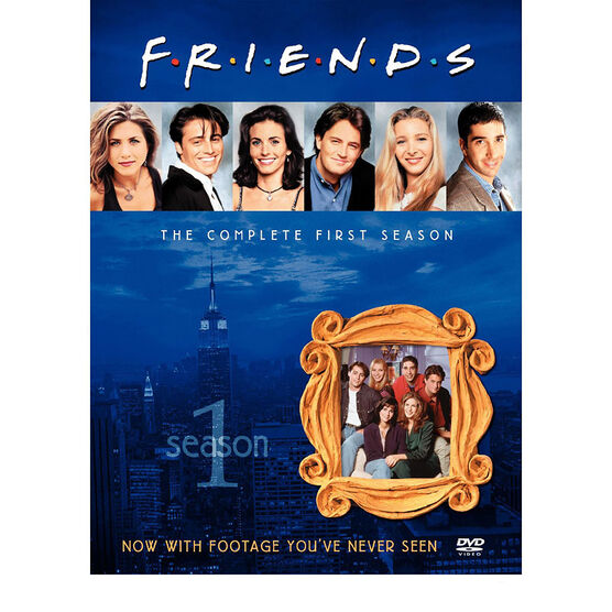Friends: The Complete First Season - DVD
