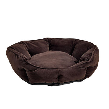 London Drugs Corduroy Pet Bed - Brown - Large