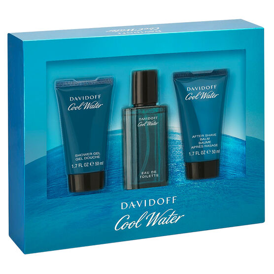Davidoff Cool Water for Men Gift Set - 3 piece