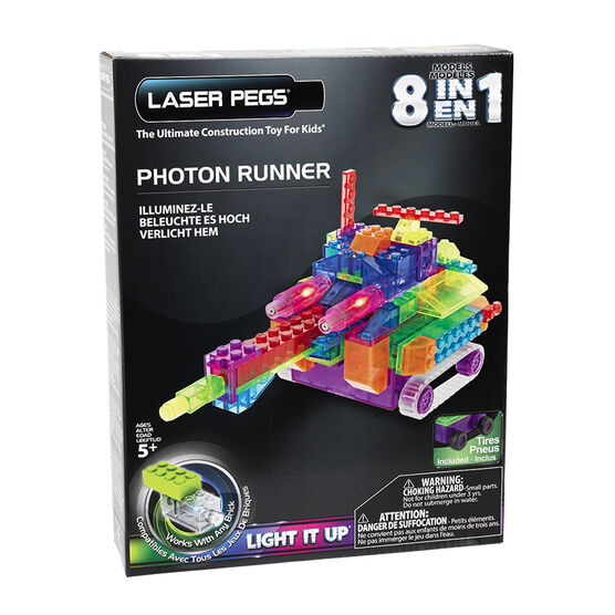 Laser Pegs Photon Runner