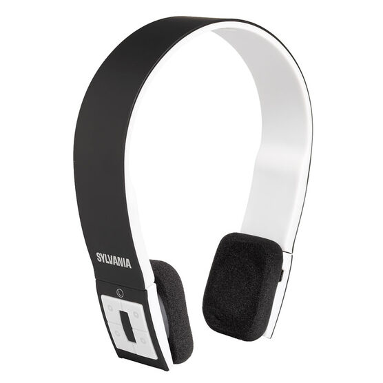 Sylvania Bluetooth Headphone - Black - SBT214BLA