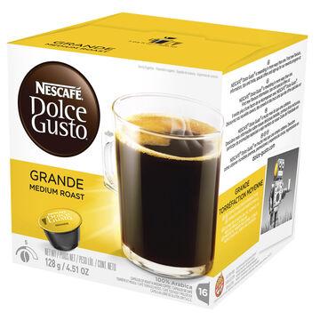 Nescafe Dolce Gusto Coffee Pods - Caffè Grande - 16's