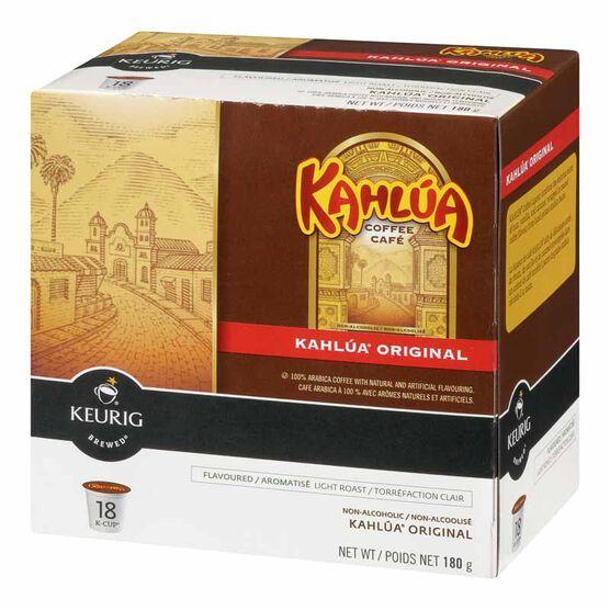 Keurig K-Cup Timothy's Original Coffee Pods - Kahlua - 18's