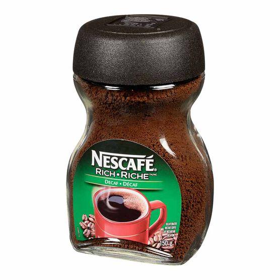 Nescafe Coffee - Decaffeinated - 150g