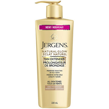 Jergens Natural Glow Tan Extender Daily Moisturizer - 220ml