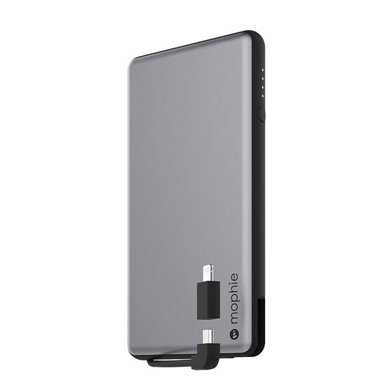 Mophie Powerstation Plus 6000 - Grey - 3461PSPLUS6KSGRY