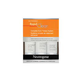 Neutrogena Rapid Clear Complete Acne Therapy System