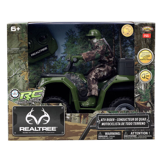 Realtree RC Radio Control ATV Rider
