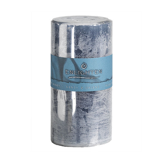 Enlighten Pillar Candle - Tradewinds - 3 x 6inch