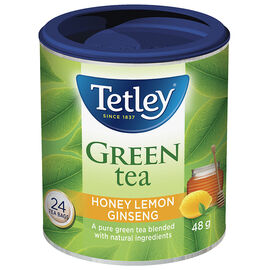 Tetley Honey Lemon Gingseng Green Tea - 24's