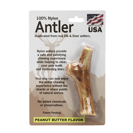 Pet Qwerks Nylon Antler - Medium