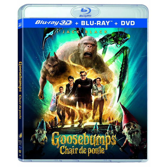 Goosebumps - 3D Blu-ray