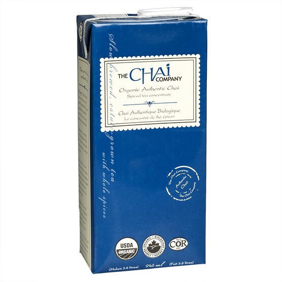 The Chai Company  - Organic Authentic Chai - 946ml