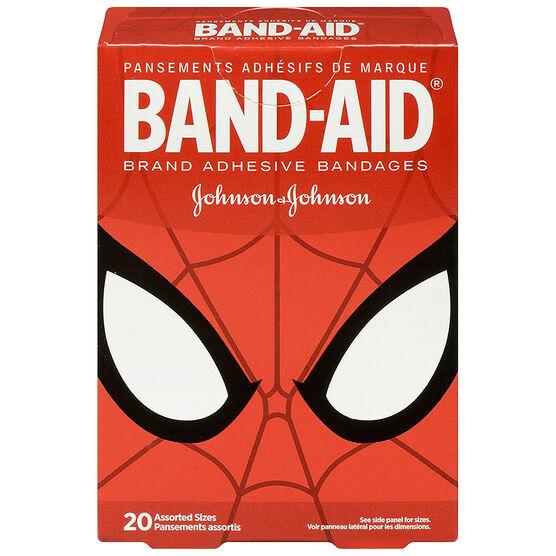 Johnson & Johnson Band-Aid - Marvel Spiderman - 20's