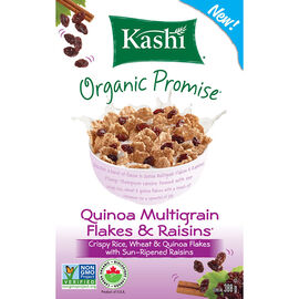 Kashi Quinoa Flakes with Raisins - 388g
