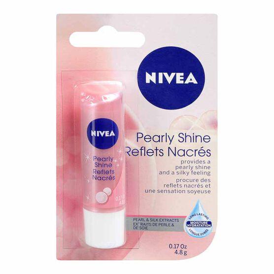 Nivea Pearly Shine Lip Care - 4.8g