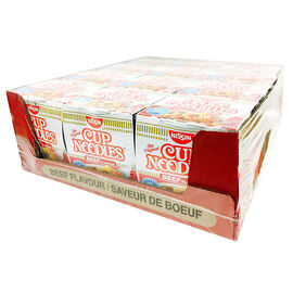 Nissin Instant Noodle Cup - Beef - 12 x 64g