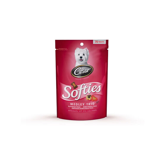 Cesar Softies Dog Treats - Medley Trio - 150g