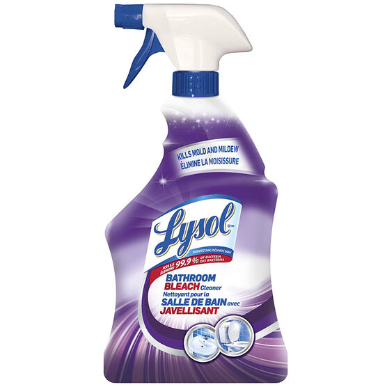 Lysol Bathroom Bleach Cleaner - Mold and Mildew - 946ml