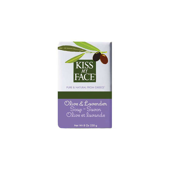Kiss My Face Bar Soap - Olive and Lavender - 230g
