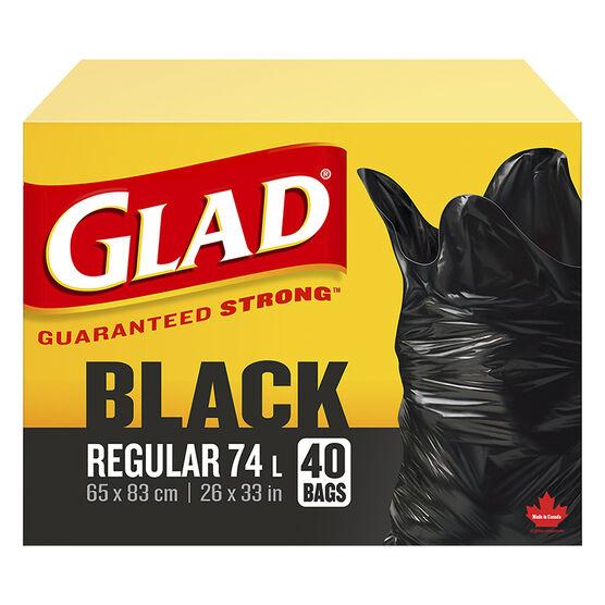 Glad Easy-Tie Garbage Bags - 40's