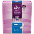 Poise Pads - Moderate Absorbency - 20's