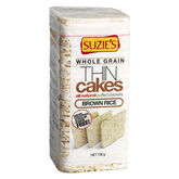 Suzie's Whole Grain Thin Cakes - Brown Rice - Unsalted - 136g