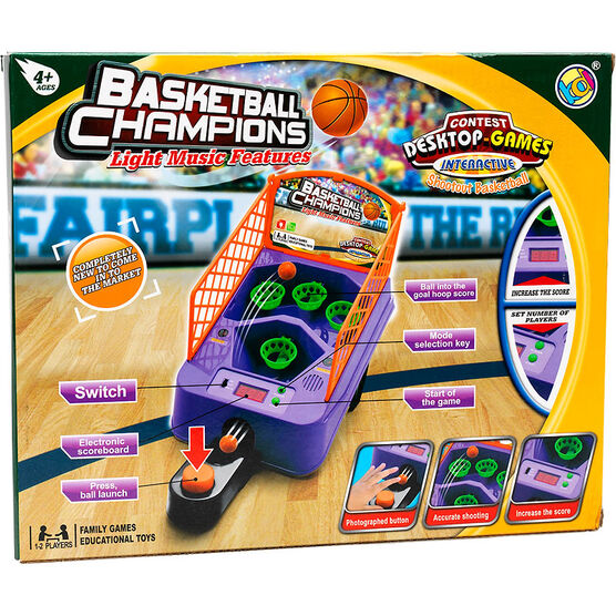 Basketball Champions Desktop Interactive Shootout Basketball Game