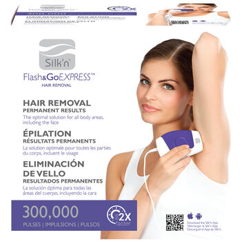 Silk'n Flash&Go Express Hair Removal Device -  PK108833A