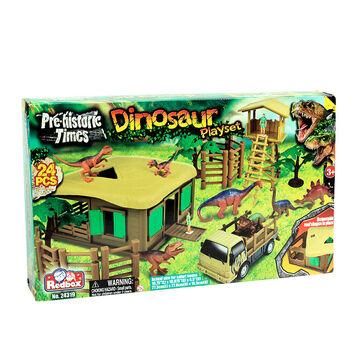Red Box Dinosaur Playset