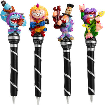 Hand Painted Monster Pens - Assorted