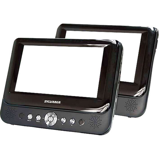 "Sylvania 9"" Dual Screen DVD Player - SDVD9957"