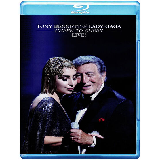 Tony Bennett & Lady Gaga - Cheek To Cheek Live! - Blu-ray