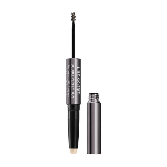Lise Watier Double Perfection Lift & Fill Eyebrow Duo - Brun Universel