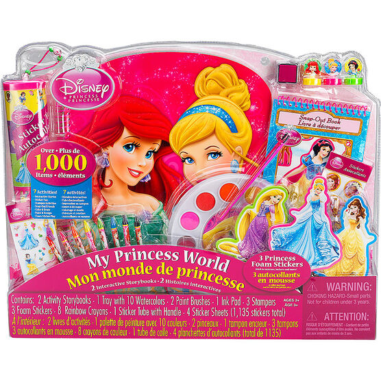Disney Princess My Princess World Activity Set