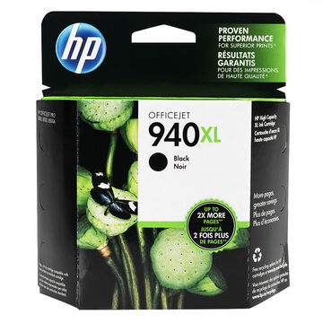 HP 940XL Officejet Ink Cartridge - Black - C4906AC140