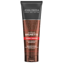 John Frieda Brilliant Brunette Visibly Deeper Shampoo - 250ml