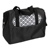 Thermos Raya Lunch Duffle - Black/White