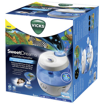Vicks Sweet Dreams Cool Mist Humidifier - Blue - VUL575C