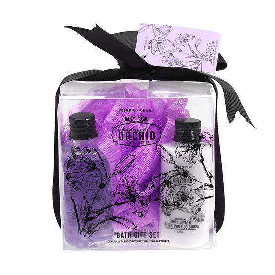 PurePleasure Bath Gift Set - Midnight Orchid - 3 piece