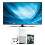 Samsung 65-in 4K UHD TV + Xbox One 1TB + Gears of War 4 Package - PKG #30661