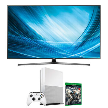 Samsung 65-in 4K UHD TV + Xbox One 1TB + Gears of War 4 Package - PKG #30661