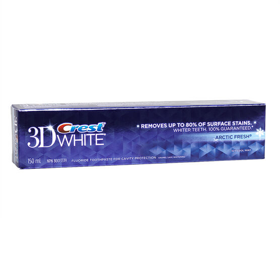 Crest 3D White Arctic Fresh Toothpaste - Icy Cool Mint - 150ml