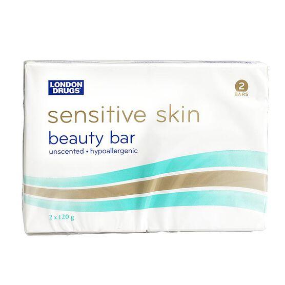 London Drugs Sensitive Skin Beauty Bar - 2 x 120g