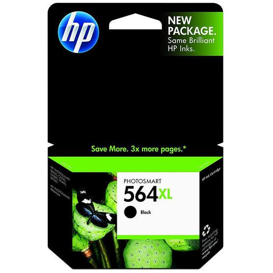 HP 564XL High Yield Original Ink Cartridge - Black - CN684WN#140