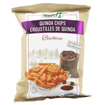 Simply 7 Quinoa Chips - BBQ - 100g
