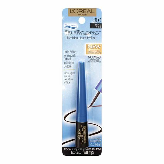 L'Oreal Telescopic Explosion Waterproof Eyeliner - Black