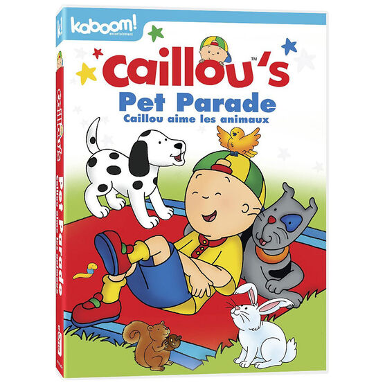 Caillou's Pet Parade - DVD