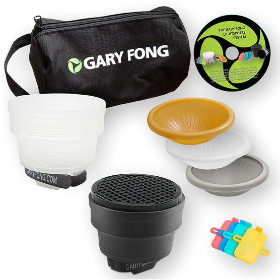 Gary Fong Lightsphere Collapsible G5 Lighting Kit: Fashion & Commercial - LSC-SM-FC