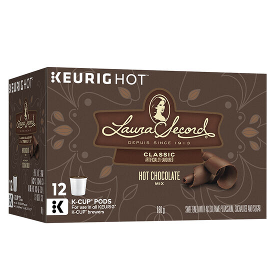 K-Cup Laura Secord Hot Chocolate - 12 Servings